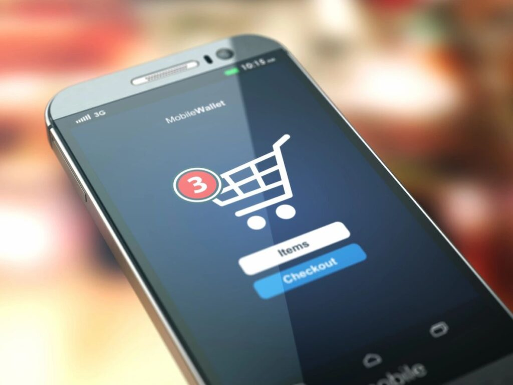 Online grocery shopping 2021